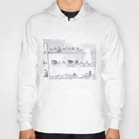 mineral Hoodies featuring Mineral City II by antecedence