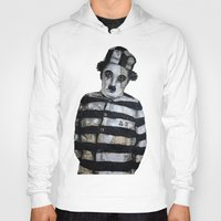 chaplin Hoodies featuring Charles Chaplin  by Krzyzanowski Art