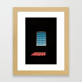 In jail Framed Art Print