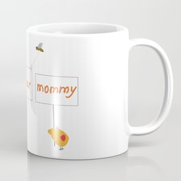 Cute image for mother`s day gift on transparent Coffee Mug