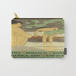 Vintage poster - Three Gringos Carry-All Pouch