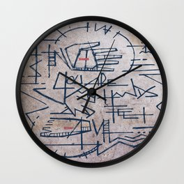 You are my hands and feet Wall Clock