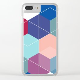 Hexies Clear iPhone Case