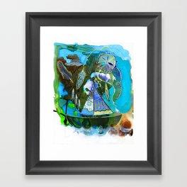 The Dream Boat Framed Art Print
