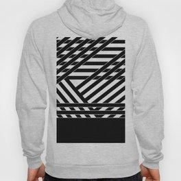 Black and white binding 1 Hoody