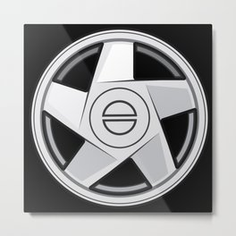 Wheel Design Volvo Hydra Metal Print