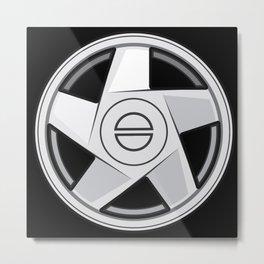 Wheel Design Bolbo Hydra Metal Print