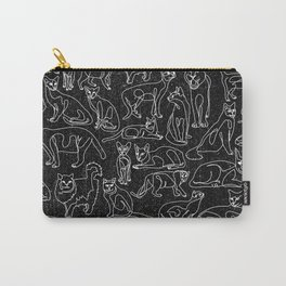 Cats Collage Carry-All Pouch