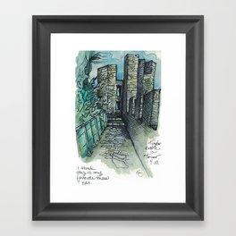 Camino Portugués - Tomar Framed Art Print