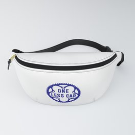 One Less Car Fanny Pack