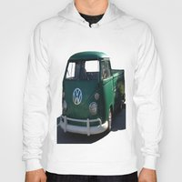 vw Hoodies featuring VW GRUNGE by Joedunnz