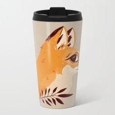 Fox Familiar Metal Travel Mug