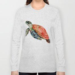 Sea Turtle, turtle art, turtle design Long Sleeve T-shirt