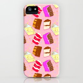 Cake Pattern iPhone Case