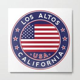 Los Altos, California Metal Print