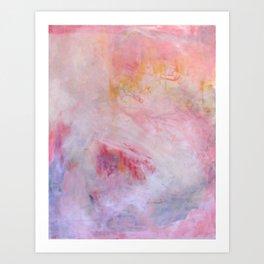 pink abysses three Art Print