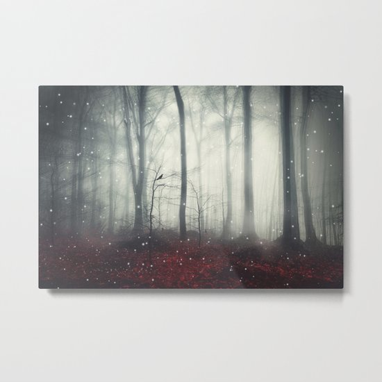 Spaces VII - Dreaming Woodland Metal Print