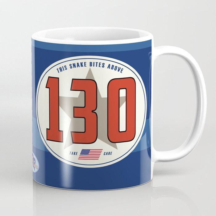 SRC Preparations Racecar Rebels: 130 Snake Bite Coffee Mug