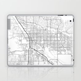 Minimal City Maps - Map Of Tucson, Arizona, United States Laptop & iPad Skin
