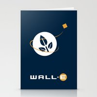 wall e Stationery Cards featuring Wall • E by Citron Vert