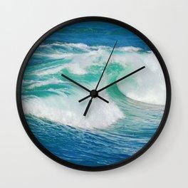 Breaking Saphire Wall Clock