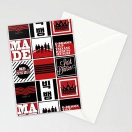 """Big Bang """"MADE"""" Pattern Stationery Cards"""