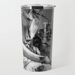 sad female statue Travel Mug