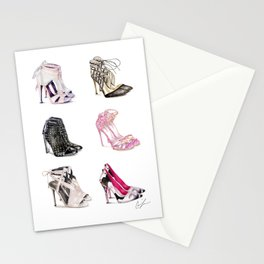 Shoe Heaven Stationery Cards