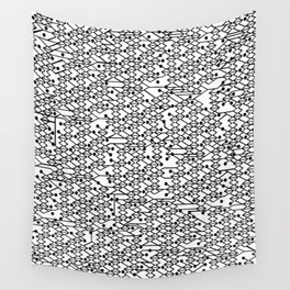 Microchip Pattern Wall Tapestry