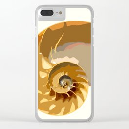 Shell color Clear iPhone Case