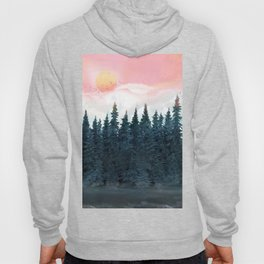 Forest Under the Sunset Hoody