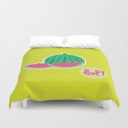 Watermelon - CosmoLOL!icious Duvet Cover