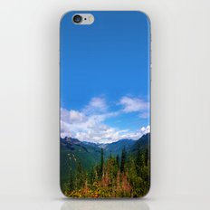 Northern Cascade Sky iPhone & iPod Skin