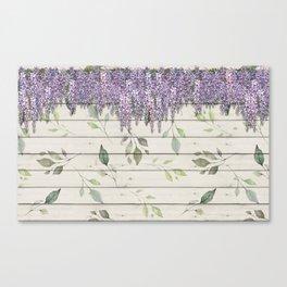 Spring Wisteria Canvas Print
