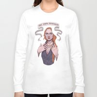 sansa stark Long Sleeve T-shirts featuring Sansa by Sara Meseguer