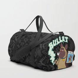 Cartoon Bullet - #1 Drug Dog (Sniffer Dog) Duffle Bag