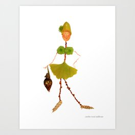Mme Duffy Art Print