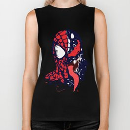 The Other Side Spider Man Biker Tank
