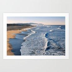 Lands End Beach Art Print