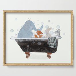 little bath time Serving Tray
