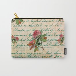 Rhododendron Rosa Carry-All Pouch
