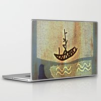 boat Laptop & iPad Skins featuring Boat by Menchulica