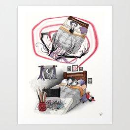 El Monstruo Pintado (Parte I) Art Print