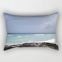 Dominican Beach Rectangular Pillow