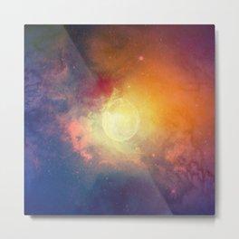 Watercolor Space #3 Metal Print