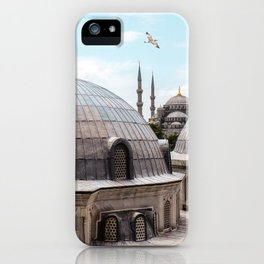 Istanbul's Blue Mosque iPhone Case