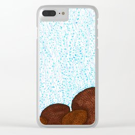 Siderastrea glynni Coral Clear iPhone Case