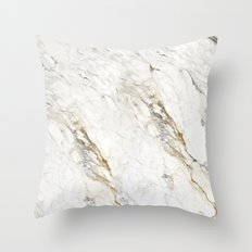 New Marble Throw Pillow