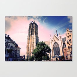 St. Rumbold's Cathedral Canvas Print