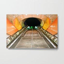 NOHO Metro Metal Print